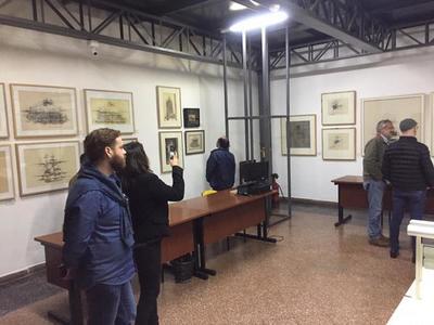 Obras de Pindú seguirán expuestas en el Archivo Nacional