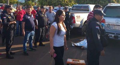 Ex policía asesinado se movilizaba en un blindado