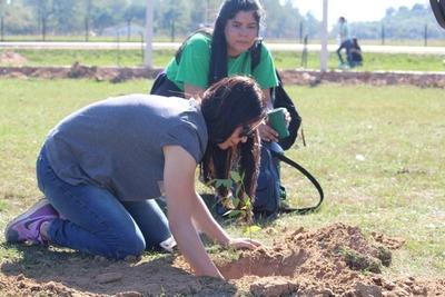 Más de 1000 árboles plantados en jornada de reforestación en Paraguari