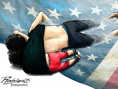 La terrible imagen de padre e hija migrantes que murieron ahogados