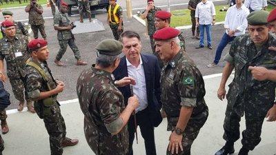 Militar del avión de Bolsonaro, detenido con cocaína en España