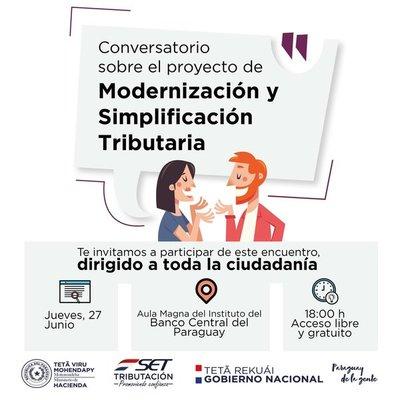 SET convoca a diálogo sobre proyecto de Modernización Tributaria