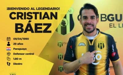 HOY / Oficializan la llegada del zaguero Báez a la Toldería