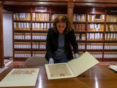 Cartas inéditas arrojan nueva luz a primer viaje de Colón