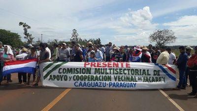 """Declaran asueto distrital en Caaguazú en apoyo a """"Ñane Energía"""""""