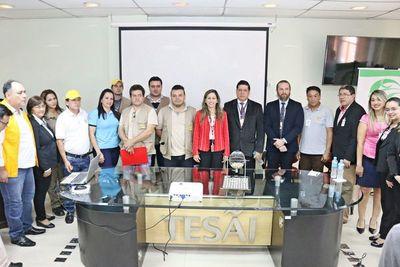 Tesãi premió a diez escuelas más limpias en Alto Paraná