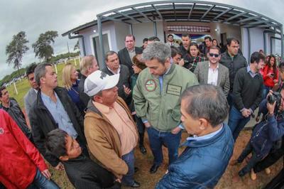 Jefe de Estado visita los departamentos de Presidente Hayes y Concepción