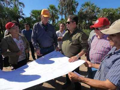MOPC y DINAC prevén construir un nuevo aeropuerto en Carmelo Peralta