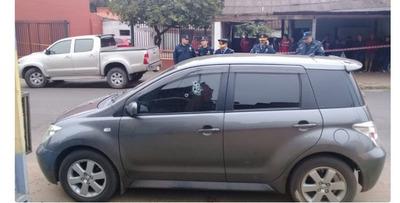 Asesinan a comerciante en pleno centro de Luque