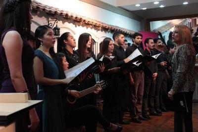 Concierto de la escuela de canto del IMA