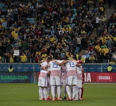Paraguay en su mejor juego queda eliminada de la Copa América