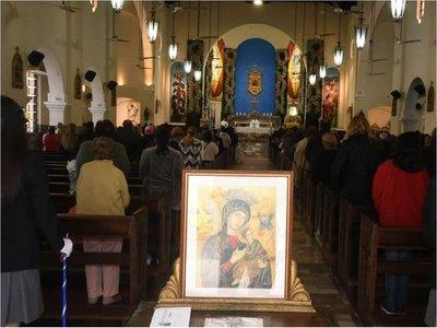 Día del Perpetuo Socorro se celebró con misas cada hora