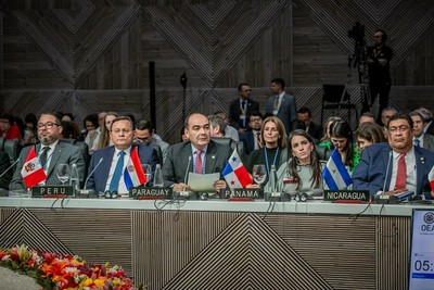 Paraguay defiende democracia en el hemisferio durante Asamblea General de la OEA