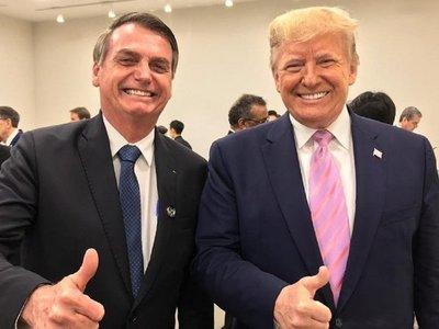 Bolsonaro y Trump contra apoyo financiero a Maduro