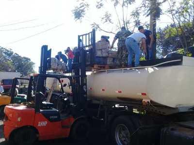 Aduanas de Ciudad del Este retuvo un camión con 4.400 kilos de marihuana