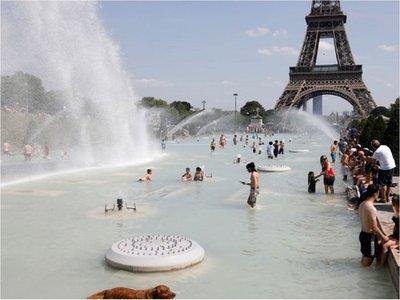 Francia bate su récord de altas temperaturas con 44,3 grados