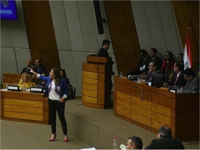 Kattya González anuncia presentación de paquete de leyes anticorrupción