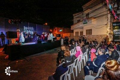 La Guarania llegó a Punta Karapã de la mano de Rohayhuve che barrio