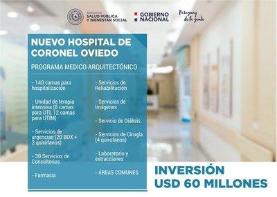Anuncian construcción del Hospital General de Coronel Oviedo