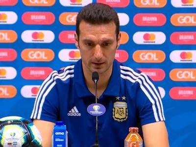 Scaloni habla de lo que será el duelo contra Brasil
