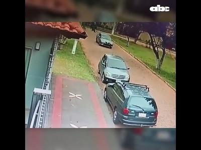 Crimen en Luque: Video revela que sicario siguió a víctima desde su casa