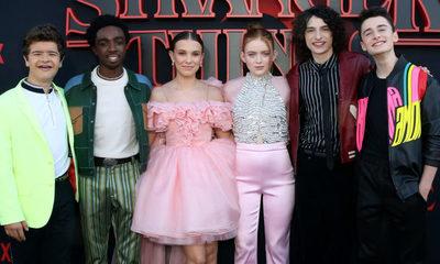 Así fue la premiere de Stranger Things 3 anoche en California