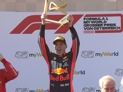 Max Verstappen obtiene el GP de Austria