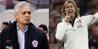 HOY / Rueda y Gareca callan las críticas con el pase de Chile y Perú a semifinales