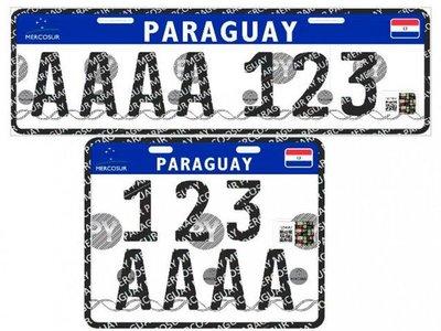 Patentes Mercosur  se implementan en  territorio nacional a partir de hoy