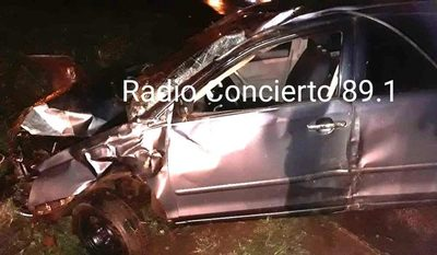 Fatal accidente en Minga Guazú
