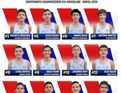 Dos altoparanaenses en selección de básquet de cara a Sudamericano