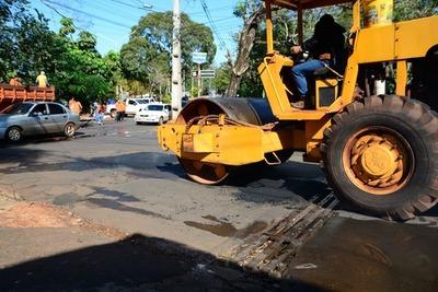 Reparan calles que estaban repletas de enormes baches