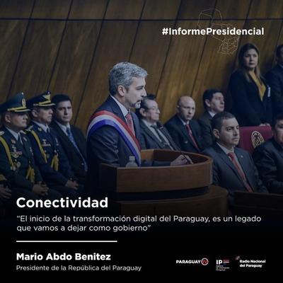 Conectividad: Paraguay construye Red nacional de fibra óptica