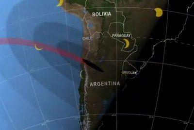 Eclipse parcial de sol podrá verse si el tiempo lo permite
