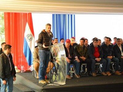 Inauguran mejoras en la planta alcoholera de Mauricio José Troche