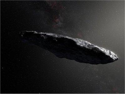 Oumuamua no es una nave extraterrestre