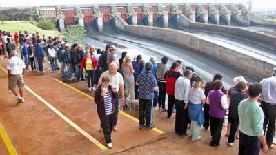 Complejo turístico de Itaipu registró aumento de turistas en junio