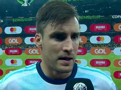 Nicolás Tagliafico asegura que Argentina hizo un buen partido