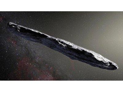 Detectan un asteroide que viene de otro sistema solar