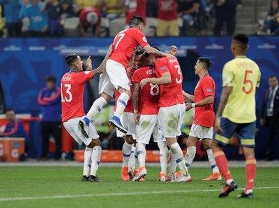 """Se reedita el clásico Chile-Perú en """"semis"""" de Copa América"""