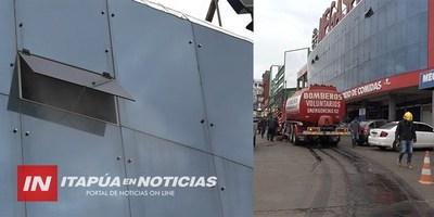 SIRVIO LA CAPACITACIÓN PREVENTIVA EN INCENDIO EN EL CIRCUITO COMERCIAL.