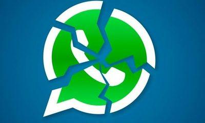 WhatsApp y Facebook con inconvenientes