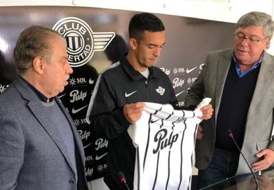 Alfio Oviedo es presentado en Libertad