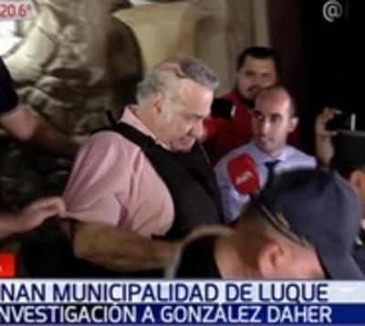 Allanan comuna de Luque en busca de propiedades de González Daher