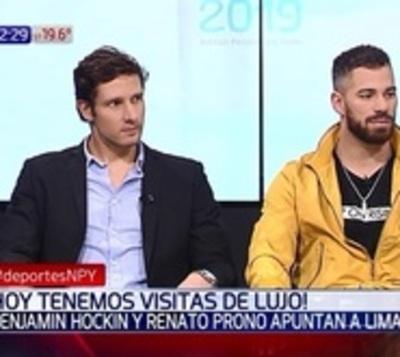 Hockin y Prono se apuntan para los Juegos Panamericanos 2019