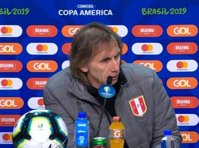 Gareca dice que no ve otra opción más que ganar la Copa América
