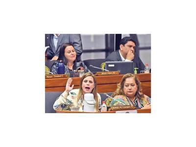 Envían a comisión pedido de expulsión de Kattya González