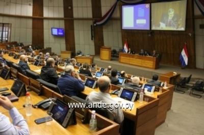 Diputados aprueba a la ANDE construcción de dos nuevas líneas de Transmisión de 500 KV