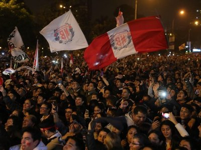 Locura en Perú por la clasificación a la final de la Copa América