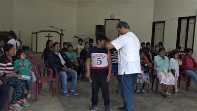 Boquerón: Se aplicaron 4.000 dosis de vacuna antigripal a población de riesgo